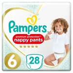 Pampers Active Fit Pants Size 6