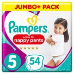 Pampers Active Fit Pants 5 Junior