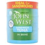 John West Sandwich Tuna In Brine 3PK